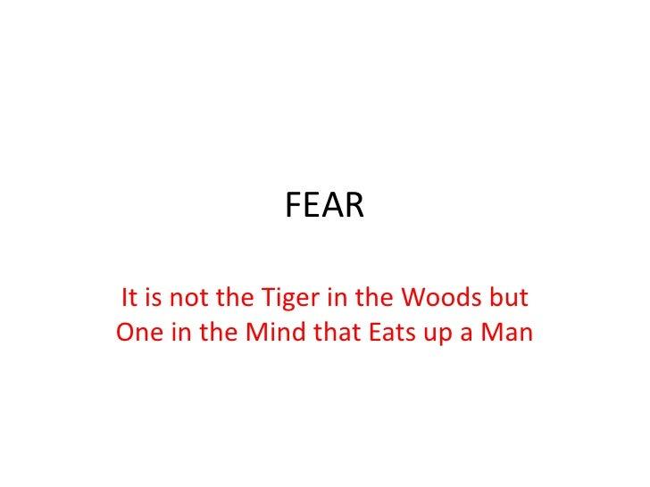 Fear Slide 2