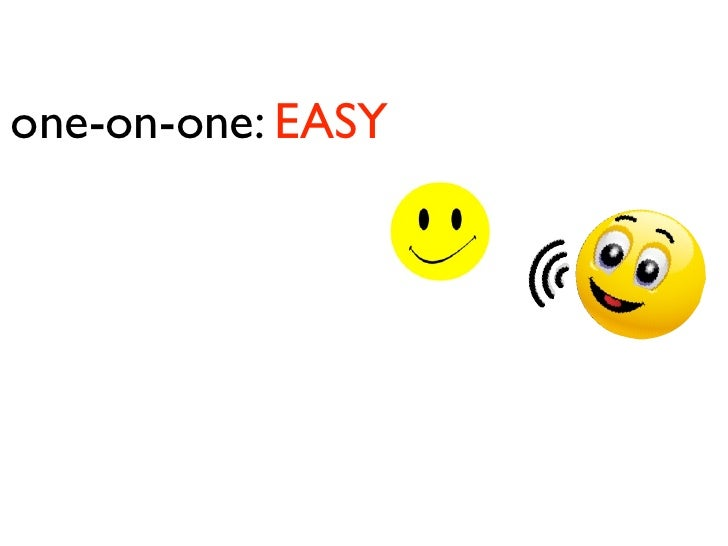one-on-one: EASY