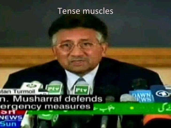 Tense muscles
