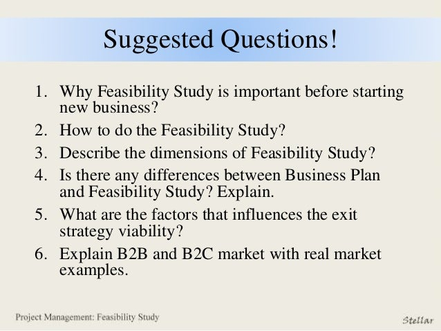 difference between project feasibility study and business plan