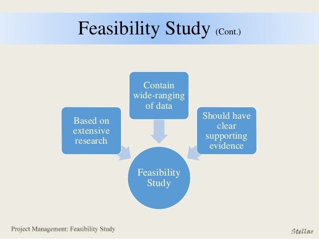 feasibity study Arms: draft records system feasibility study guideline, 6/12/2009  overview this records system feasibility study guideline provides a.