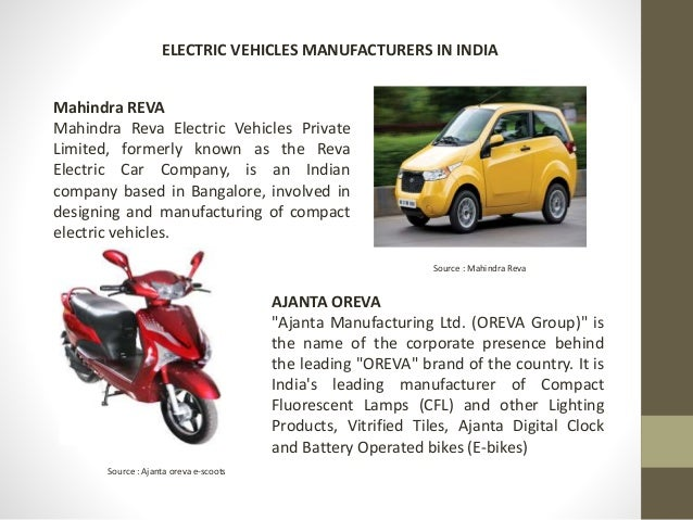 Feasibility analysis of electric vehicles in india for Electric car motor manufacturers