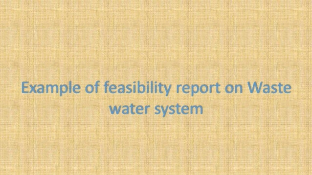 Feasibility Report  Executive Summary Includes principal / salient features of technical, financial and administrative as...