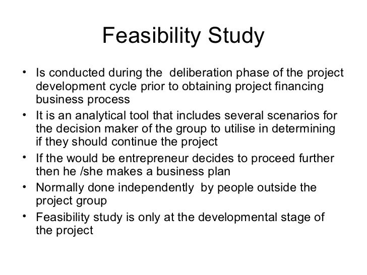 Feasibility Study Template - Project Management Docs
