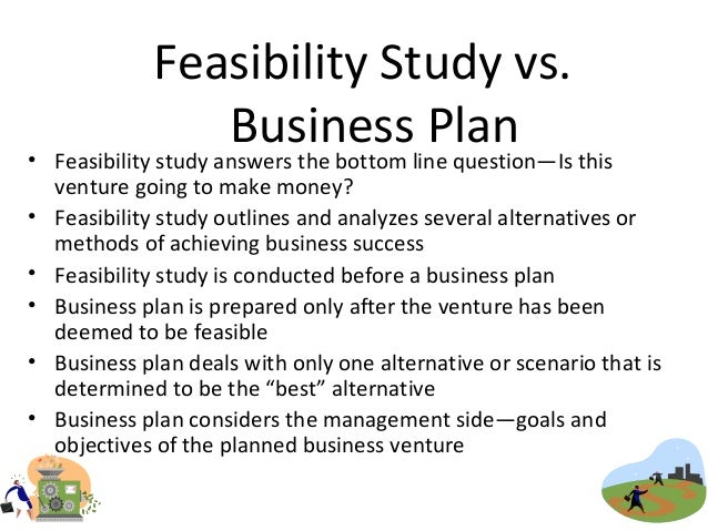 musts for business plan and feasibility study