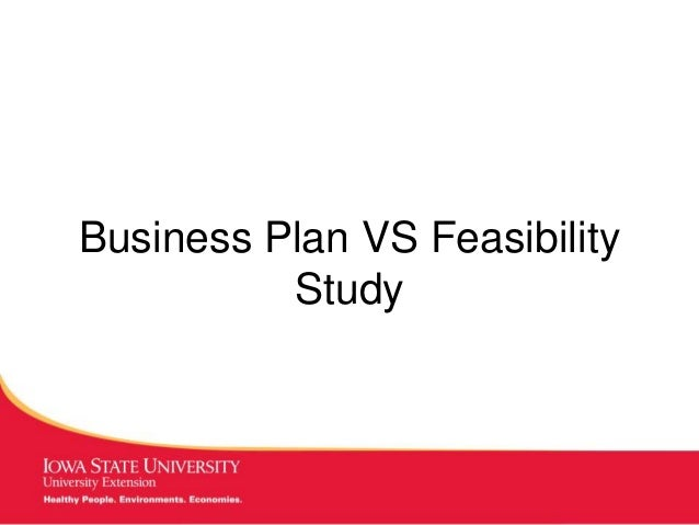 MANAGING Tough Times Business Plan VS Feasibility Study