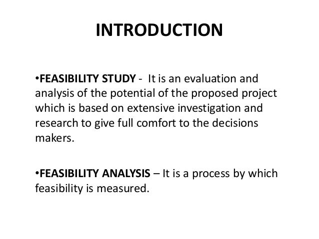 international feasibility study for tastecard Read chapter chapter 3 - feasibility study: trb's airport cooperative research program (acrp) report 111: a guidebook for airport-airline consortiums pr.