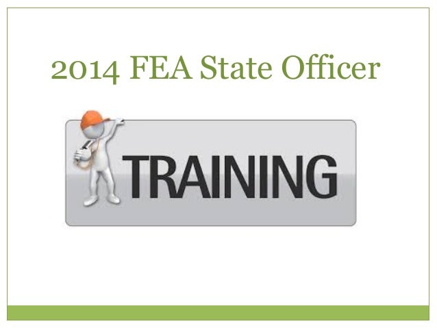 2014 FEA State Officer