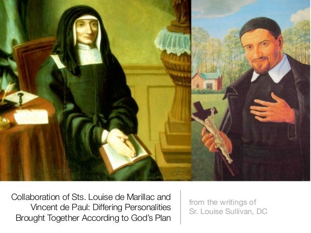 Collaboration of Sts. Louise de Marillac and                                                from the writings of     Vince...