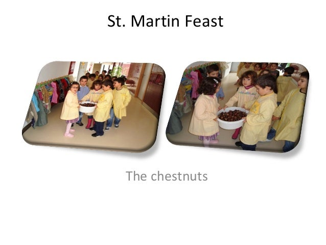 St. Martin Feast The chestnuts