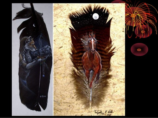 Feather paintings Slide 3