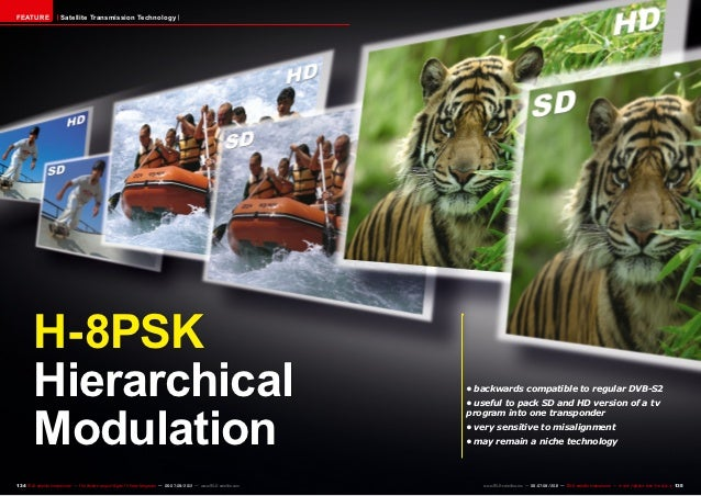 FEATURE                Satellite Transmission Technology         H-8PSK         Hierarchical                              ...
