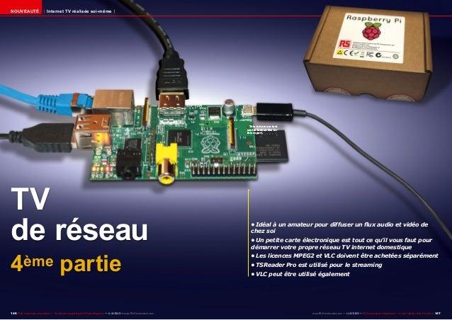 Nouveauté  Internet TV réalisée soi-même  ■ This is how our test  centre looked like for this report.  TV de réseau 4ème p...