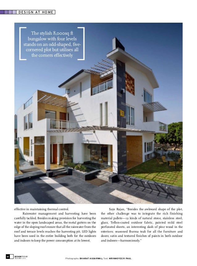 Residence Featured In Design Today Anniversary Issue 2012