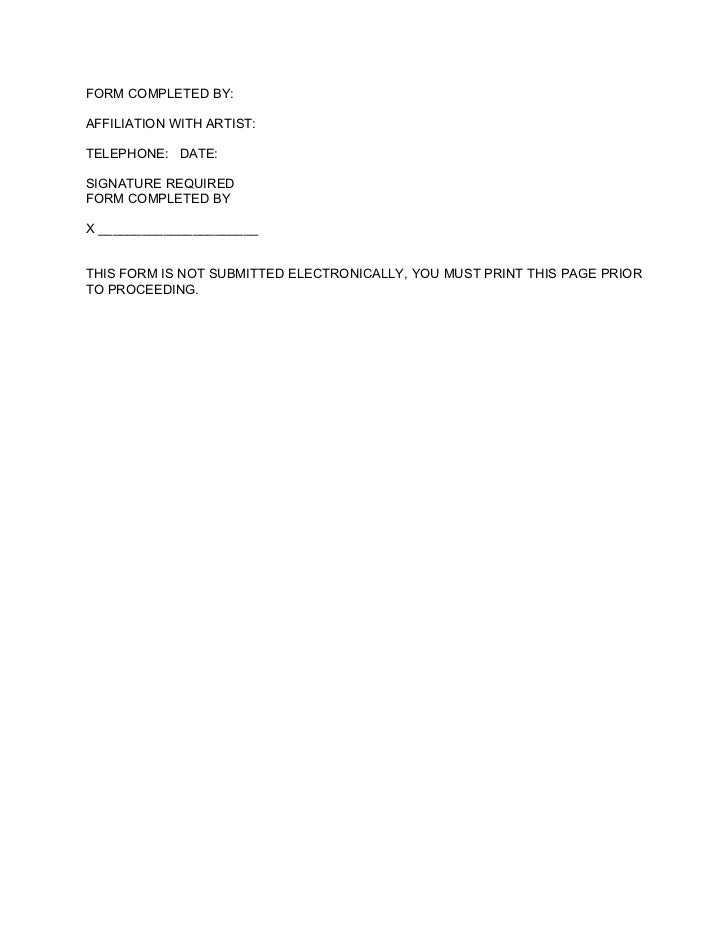 Featured Recording Artist Authorization Letter Txt