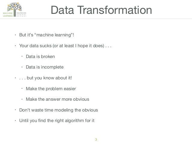 L5. Data Transformation and Feature Engineering