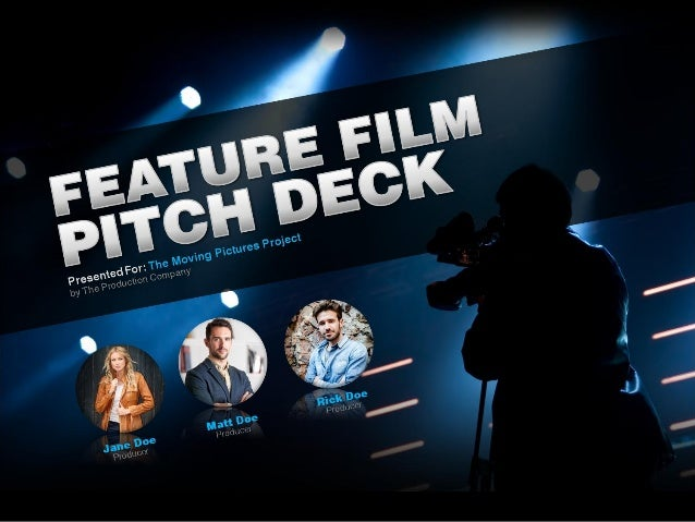 feature film pitch deck