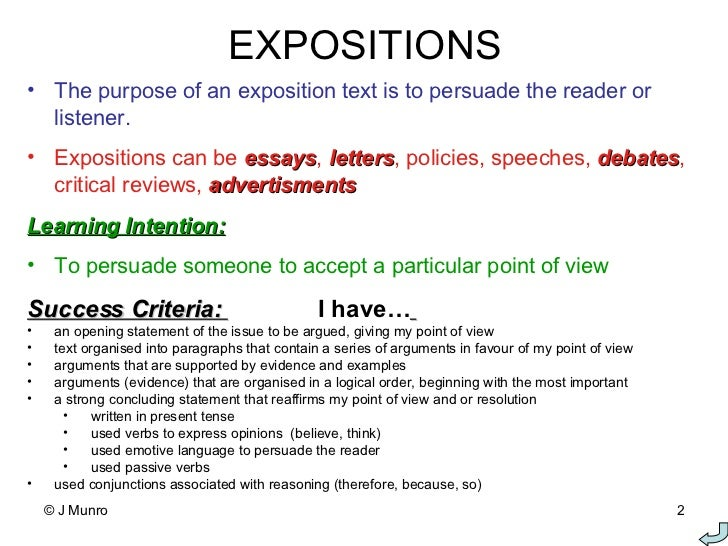 features of persuasive writing - Examples Of Persuasive Writing Essays