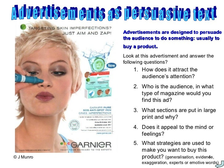 What is Persuasive Advertising?