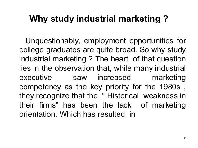 importance of industrial marketing pdf