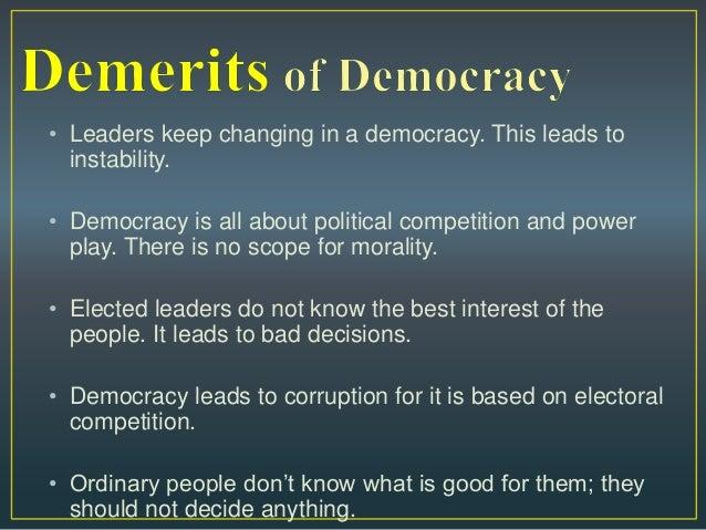 Democratic features