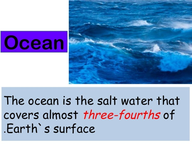 Features of earth`s surface