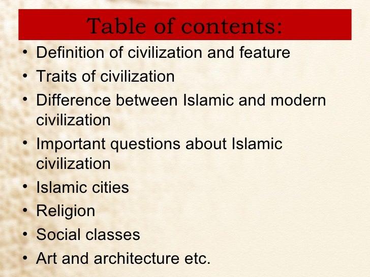 Definition of 'civilization'