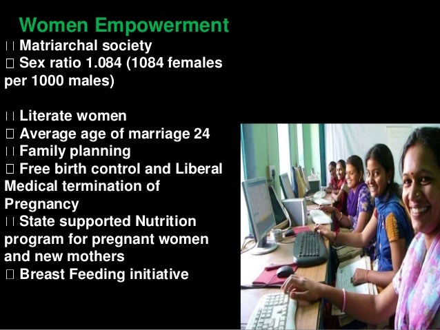 Features of kerala model of development
