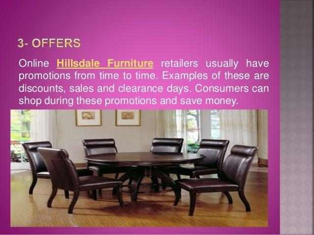 5. Online Hillsdale Furniture ...