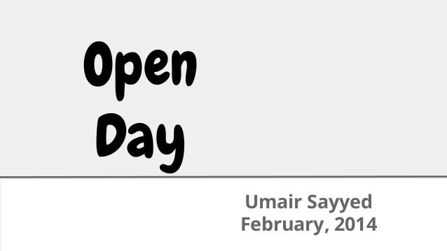 open day  February'2014 anand doshi  module home pages  nestedset  github  google  lots of fixes  social logins facebook  f...