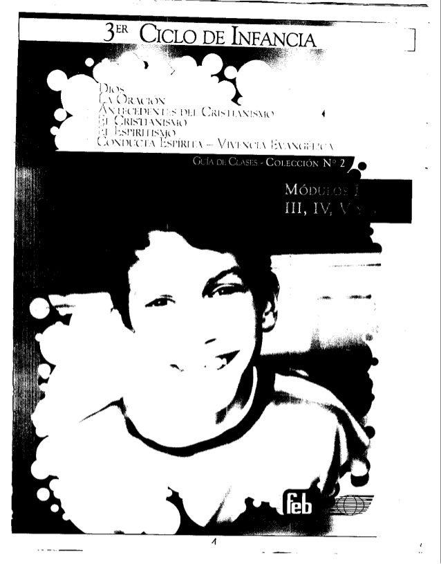 3er Ciclo De Infancia Guía De Clases Feb Colección N 2