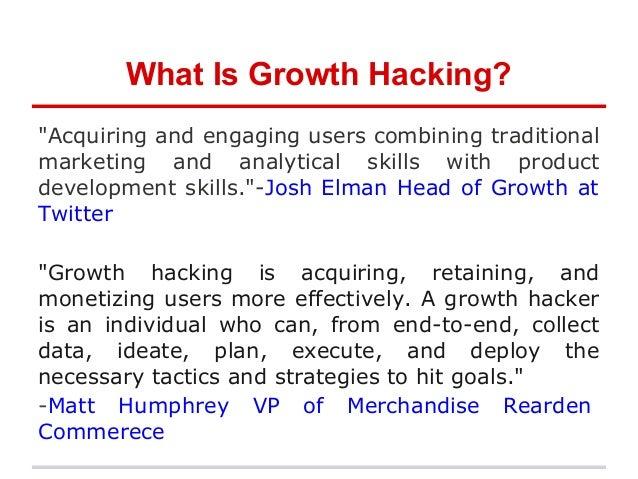 Growth Hacking 101 Slide 2