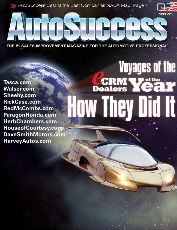 AutoSuccess Best of the Best Companies NADA Map, Page 4                                                          February