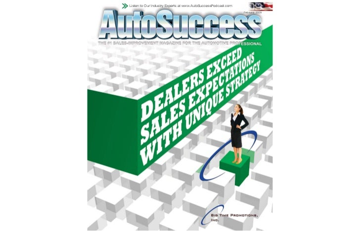 Listen to Our Industry Experts at www.AutoSuccessPodcast.com                                                              ...
