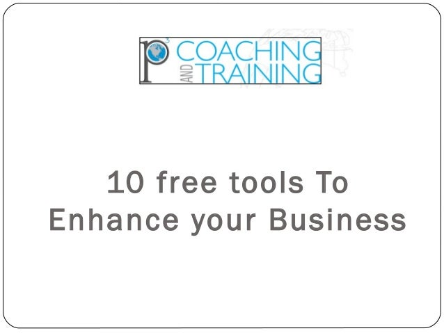 10 free tools To Enhance your Business