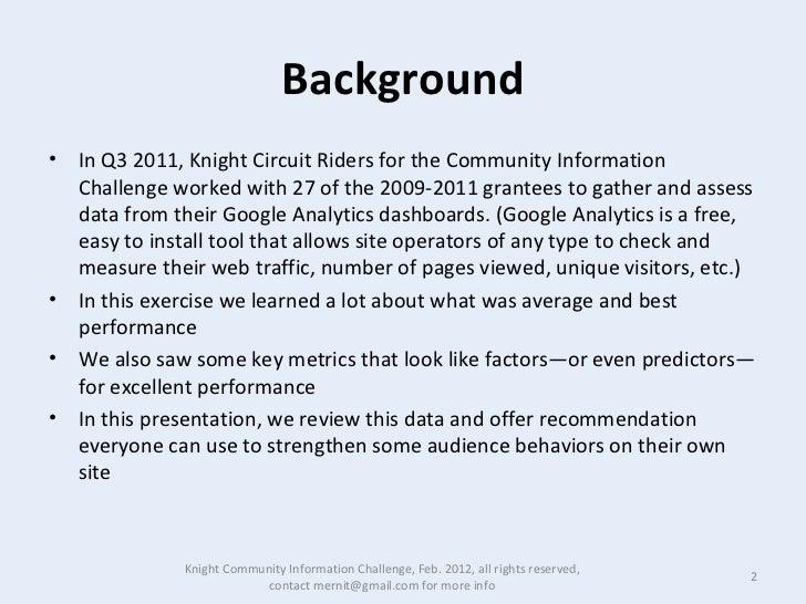 Feb 18  what we learned kcic  Slide 2