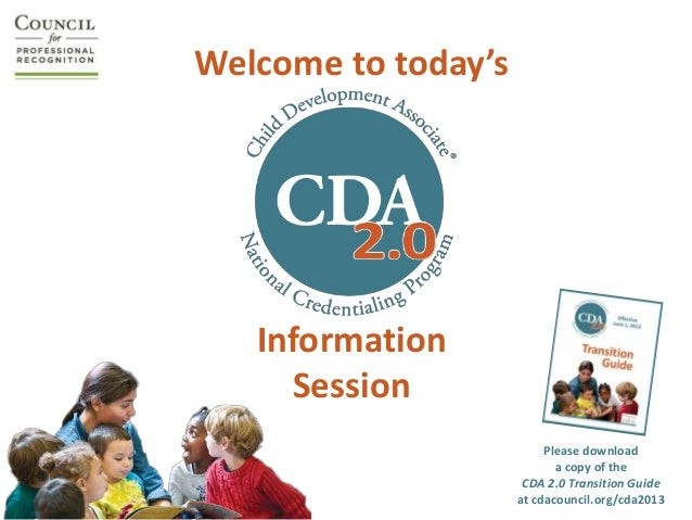 Welcome to today's   Information     Session                          Please download                            a copy of...