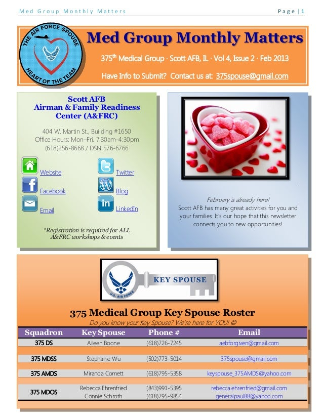 Med Group Monthly Matters                                                                       Page |1                   ...