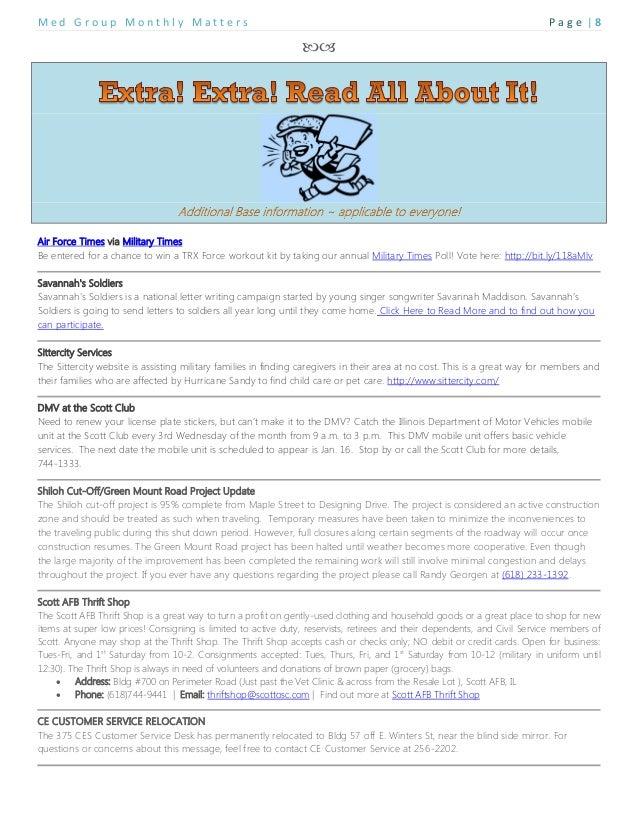 Feb 2013 spouse newsletter