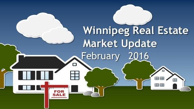 Winnipeg Real Estate Market Update February 2016