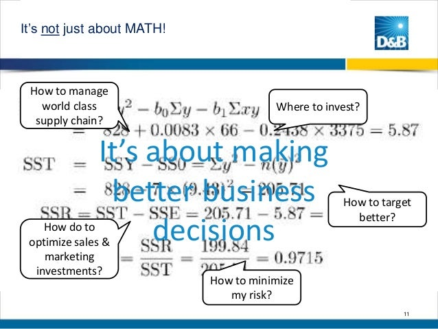 """Math Math about MATH! It""""s not just Math MATH!  How to manage world class supply chain?  Where to invest?  It's about maki..."""