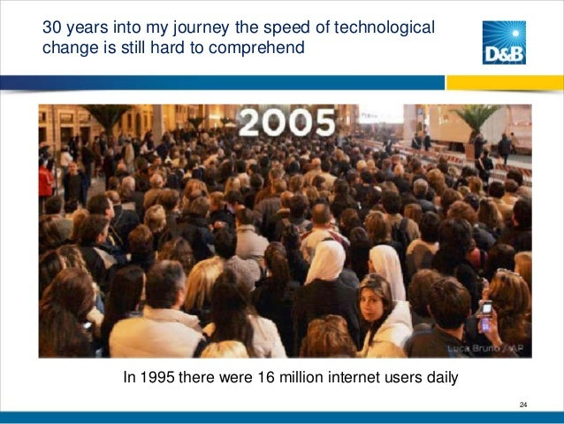 30 years into my journey the speed of technological change is still hard to comprehend  In 1995 there were 16 million inte...