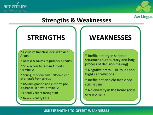 """ryanair strengh and weakness """"ryanair was europe's original low fares airline and is still europe's largest   swot analysis of ryanair strengths weaknesses lowest."""