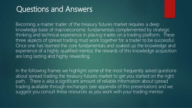 Treasury bond futures trading strategies