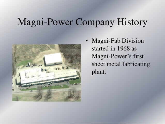 Magni Power Presentation 2016