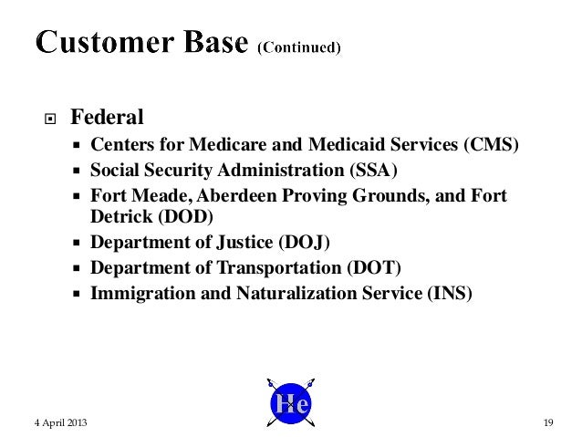  Federal  Centers for Medicare and Medicaid Services (CMS)  Social Security Administration (SSA)  Fort Meade, Aberdeen...