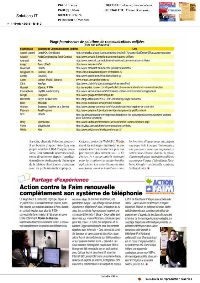 Solutions IT et Logiciels - 02-02 Slide 3