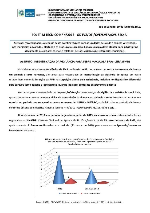 SUBSECRETARIA DE VIGILÂNCIA EM SAÚDESUPERINTENDÊNCIA DE VIGILÂNCIA EPIDEMIOLÓGICA E AMBIENTALCOORDENAÇÃO DE VIGILÂNCIA EPI...