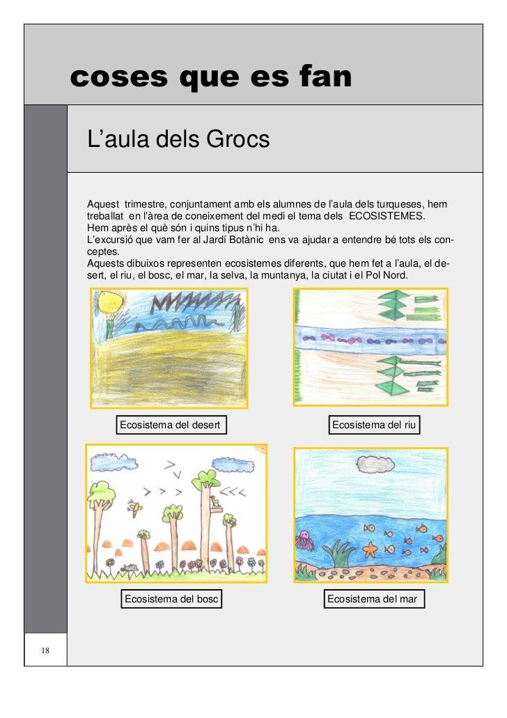 coses que es fan                                         L'aula dels Grocs      Ecosistema de la selva                    ...