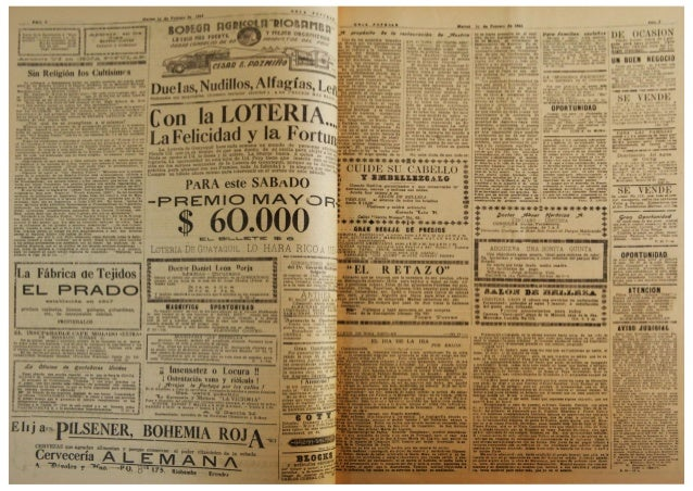 "El Periódico  ""Hoja Popular""  del mes de  Febrero 1944 Slide 2"